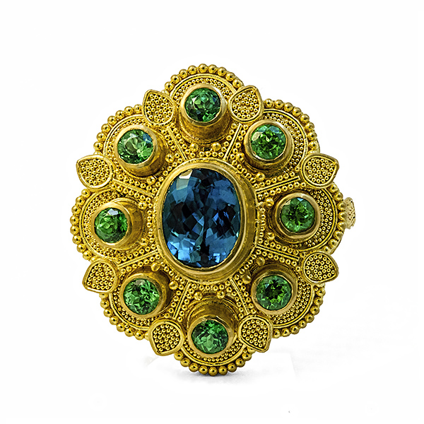 Peacock Ring 2